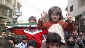 1.04.12  Kafranbel. Protest przeciw Asadowi.