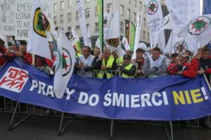 demo opzz Katowice - przeciw ustawwie 67
