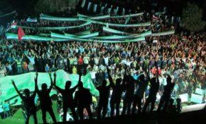 10.07.12 Damaszek. Protest przeciw Asadowi.