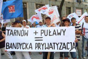 21.082. Warszawa. Demonstracja Pracowników ZA Puławy