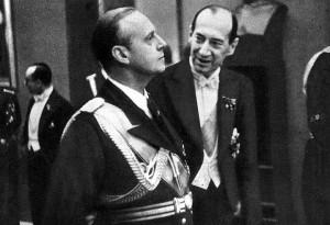 01.1939 Warszawa.  Ribbentrop i Beck.
