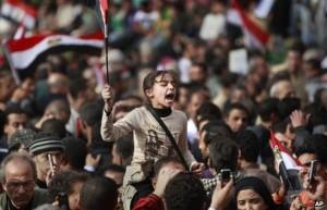 Plac Tahrir stał się międzynarodowym symbolem buntu