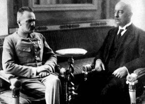 Piłsudski i Narutowicz