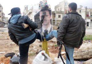 Prowincja Idlib. Zdjęcie opublikował Lokalny Komitet Koordynacyjny.