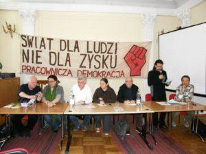 Żebrowski, Grzybek, Ikonowicz, Puszwacka, Kowalewski, Dargakis, Ilkowski.
