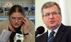 """Dwie twarze homofobii. Nienawistna posłanka Pawłowicz i """"tradycyjny"""" prezydent Komorowski."""