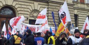 26.03.13 Strajk generalny na Śląsku.