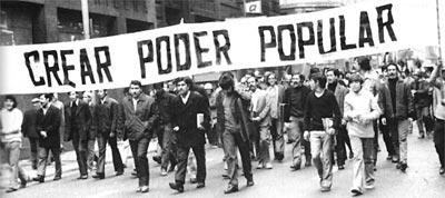 Santiago. Zwolennicy cordones industriales żądają władzy zwykłych ludzi.