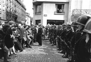 14.05.1968 Studenci w Paryżu.