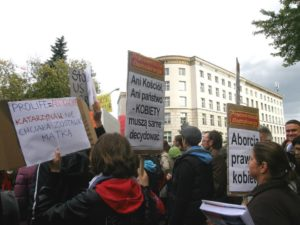 25.09.13 Protest przed Sejmem.