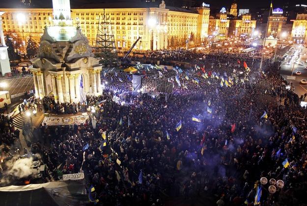 30.11.13 Majdan, Kijów.