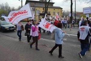 CF.Gomma.31.03.2014.Czestochowa-Pikieta-zwiazkowcow-przeciw-zwolnieniom