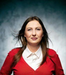 Agata Nosal-Ikonowicz, działaczka społeczna, kandydatka RSS na prezydent Warszawy.
