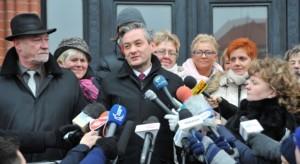 30.11.14 Robert Biedroń po ogłoszeniu wyników.