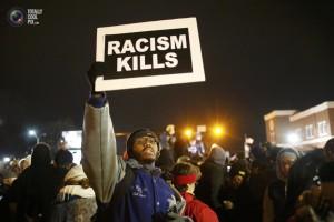 """Ferguson, Missouri - """"Rasizm zabija"""""""""""