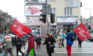 13.11.14 Praga Południe, Warszawa. Kampania RSS.
