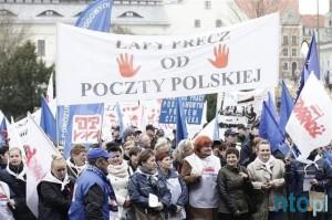 27.03.15 Opole. Antyrządowa demonstracja zwiąkowa.