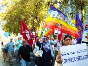 tureckie wybory - demonstracja