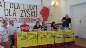 Ilkowski, Kontogiannis, Ikonowicz, Puszwacka,  Ostolski, Stanczuk, Żebrowski