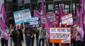26.06.15 Partia Razem w Kielcach.