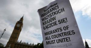 polski strajk Londyn