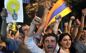 protest.przeciw.podwyzkom.cen.pradu.Armenia