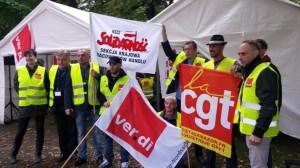 30.11.15 Międzynarodowa solidarność z pracownikami Amazona .