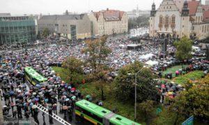 Poznań - strajk kobiet