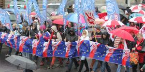 19.11.16 Manifestacja ZNP w Warszawie.