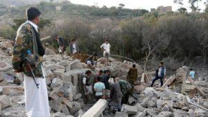29.02.17 Bajda, Jemen. Pierwsza operacja  militarna Trumpa skończyła się fiaskiem  i tragedią. Zabito ok. 30 cywilów, w tym  8-letnią dziewczynkę.