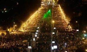 08.12.12 Kair. Masowy protest przeciw konstytucji.